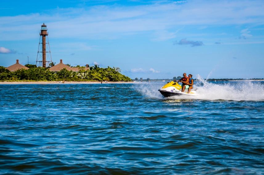 Wave Runner Sanibel Lighthhouse