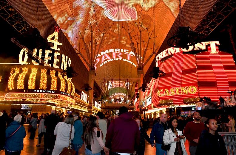 Las Vegas Fremont Street Downtown Las Vegas