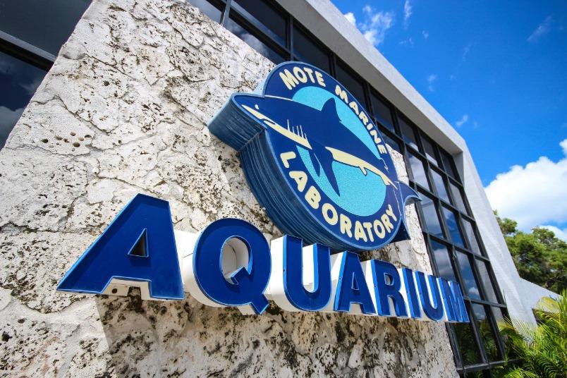 Photos Sarasota Fl Mote Aquarium Entrance Rgb L
