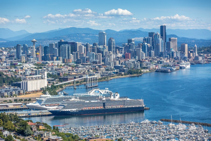 Port Of Seattle Waterfront