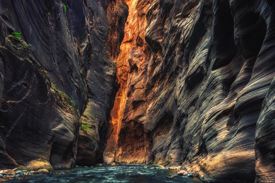 The Narrows Zion National Park, Utah