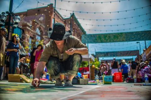 Chalk Art Festival Credit Evan Semon