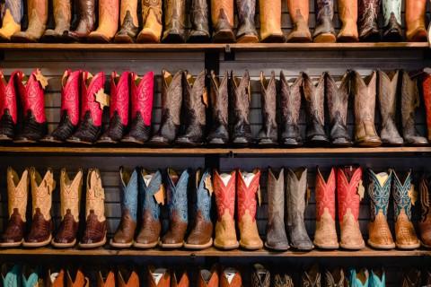Cowboy boots, Houston