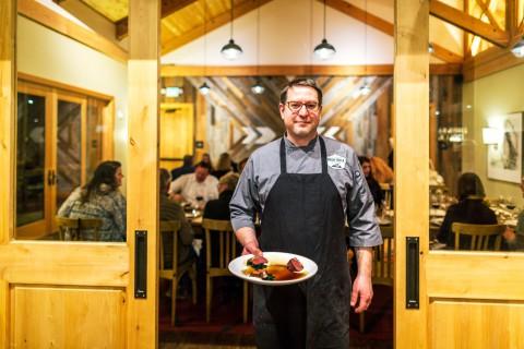 Chef Tony Lemens At Winemaker