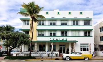 Avalon hotel op Ocean Drive