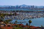 Downtown San Diego Seen From Point Loma