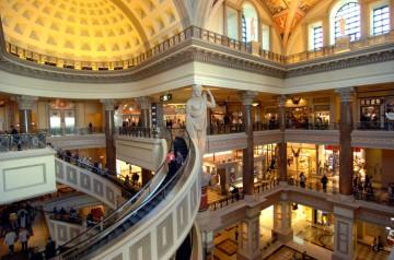 Shopping center in het Caesars Palace