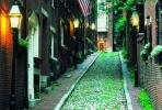 Boston Cobbled Street